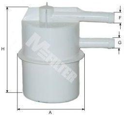 Фильтр топливный MFILTER BF 05