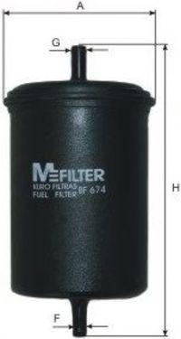 Фильтр топливный MFILTER BF674