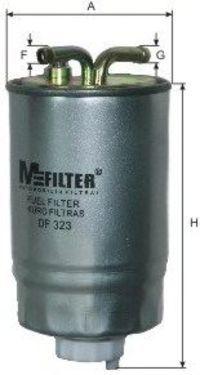 Фильтр топливный MFILTER DF323