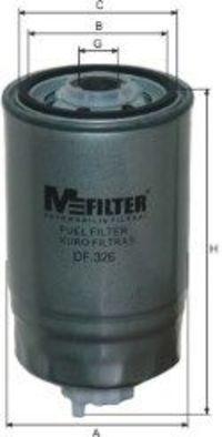 Фильтр топливный MFILTER DF326