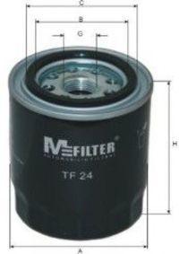 Фильтр масляный MFILTER TF24