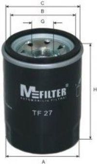 Фильтр масляный MFILTER TF27