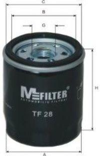 Фильтр масляный MFILTER TF28