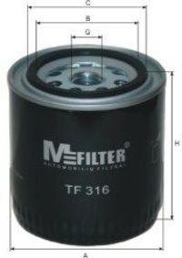 Фильтр масляный MFILTER TF316