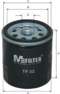 Фильтр масляный MFILTER TF 32
