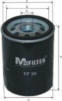 Фильтр масляный MFILTER TF38