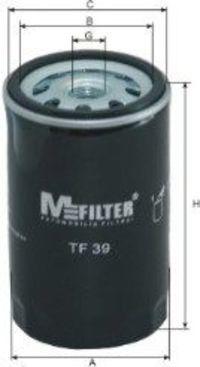 Фильтр масляный MFILTER TF 39