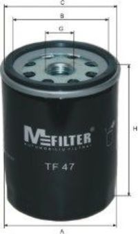 Фильтр масляный MFILTER TF47