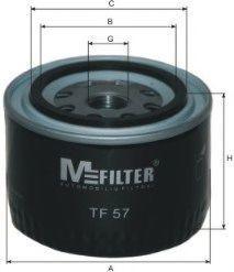 Фильтр масляный MFILTER TF57