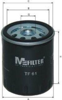 Фильтр масляный MFILTER TF61