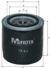Фильтр масляный MFILTER TF 63