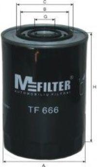 Фильтр масляный MFILTER TF666