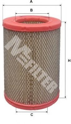 Фильтр воздушный MFILTER A584