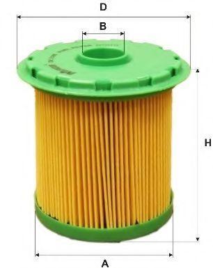 Фильтр топливный MFILTER DE3105