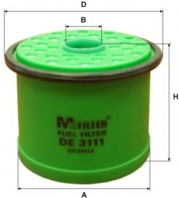 Фильтр топливный MFILTER DE3111