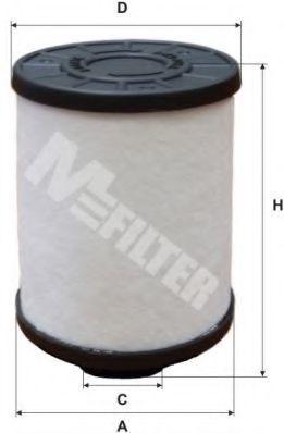 Фильтр топливный MFILTER DE3118