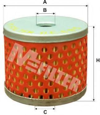 Фильтр топливный MFILTER DE685