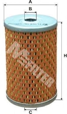 Фильтр топливный MFILTER DE 686