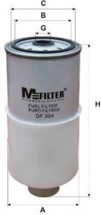 Фильтр топливный MFILTER DF304