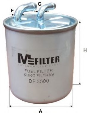 Фильтр топливный MFILTER DF3500