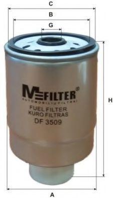 Фильтр топливный MFILTER DF3509