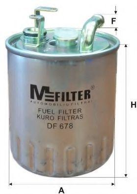 Фильтр топливный MFILTER DF 678