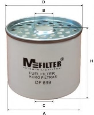 Фильтр топливный MFILTER DF699
