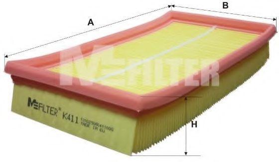 Фильтр воздушный MFILTER K411