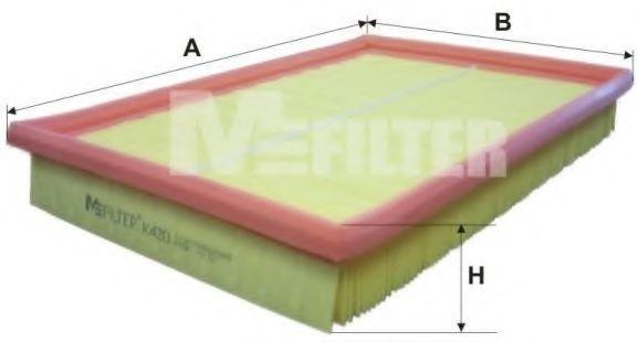 Фильтр воздушный MFILTER K 420