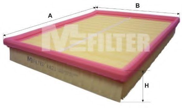 Фильтр воздушный MFILTER K 421