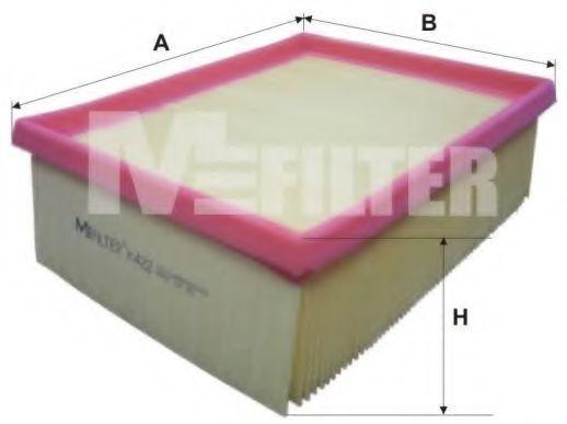 Фильтр воздушный MFILTER K422