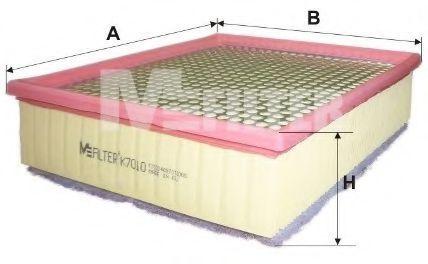 Фильтр воздушный MFILTER K7010