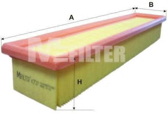Фильтр воздушный MFILTER K737