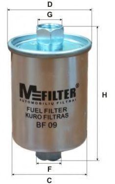 Фильтр топливный MFILTER BF 09