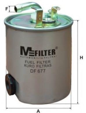 Фильтр топливный MFILTER DF 677