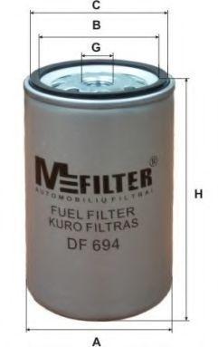 Фильтр топливный MFILTER DF694