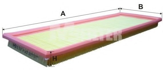 Фильтр воздушный MFILTER K142