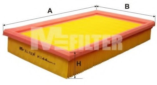 Фильтр воздушный MFILTER K144
