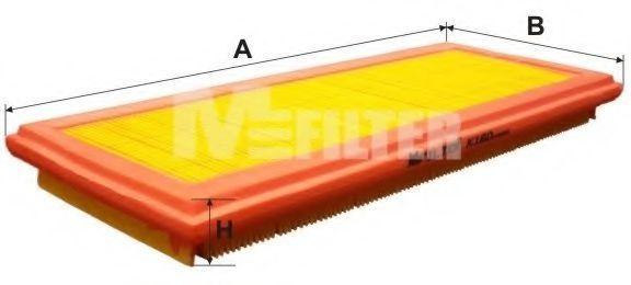 Фильтр воздушный MFILTER K160