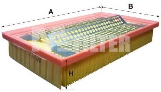 Фильтр воздушный MFILTER K161