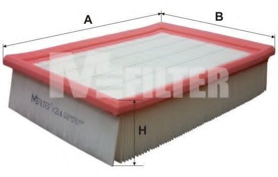 Фильтр воздушный MFILTER K214