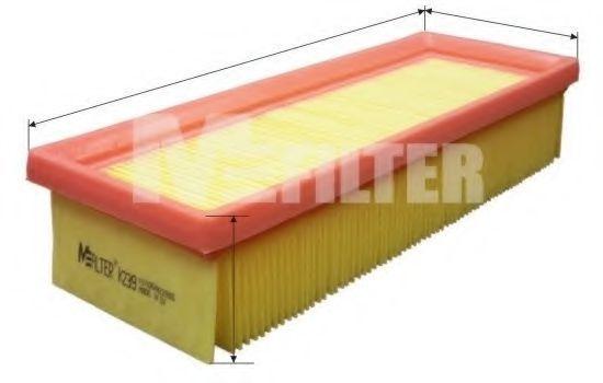 Фильтр воздушный MFILTER K 239