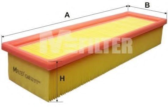 Фильтр воздушный MFILTER K 248