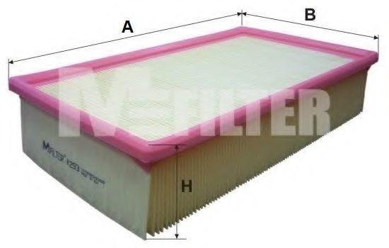 Фильтр воздушный MFILTER K293