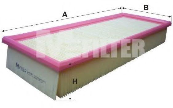 Фильтр воздушный MFILTER K371