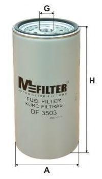 Фильтр топливный MFILTER DF3503