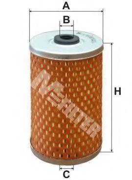 Фильтр топливный MFILTER DE 15