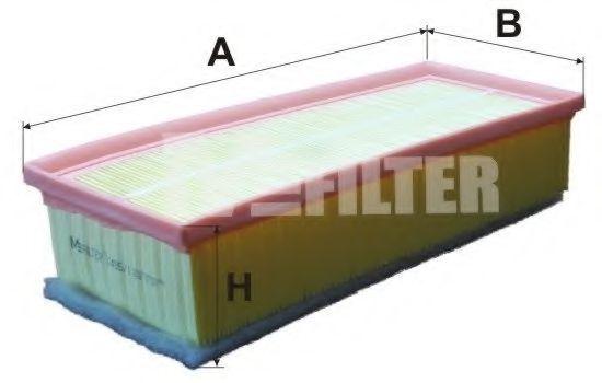 Фильтр воздушный MFILTER K 495/1