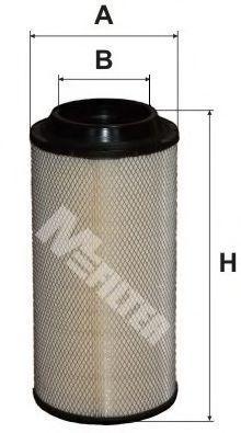 Фильтр воздушный MFILTER A582