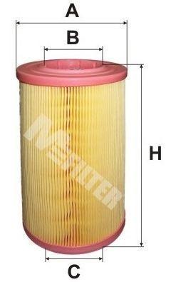 Фильтр воздушный MFILTER A8038